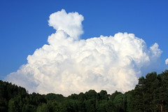 Yesterday I drew such a large cloud that now it is raining all day :D