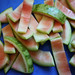Small photo of Watermelon Rind Preserves - Flesh removed