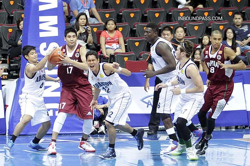 UAAP Season 76: Adamson Falcons vs. UP Fighting Maroons. June 30