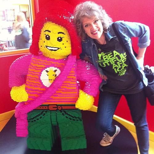 Lego happy!