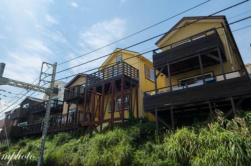 七里浜 江之電