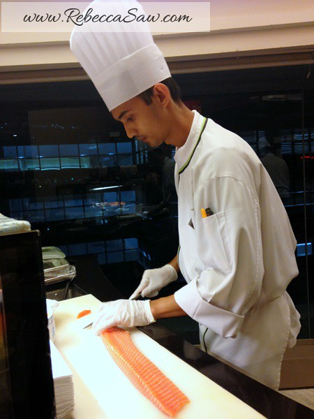 japanese - latest recipe buffet - le meridien