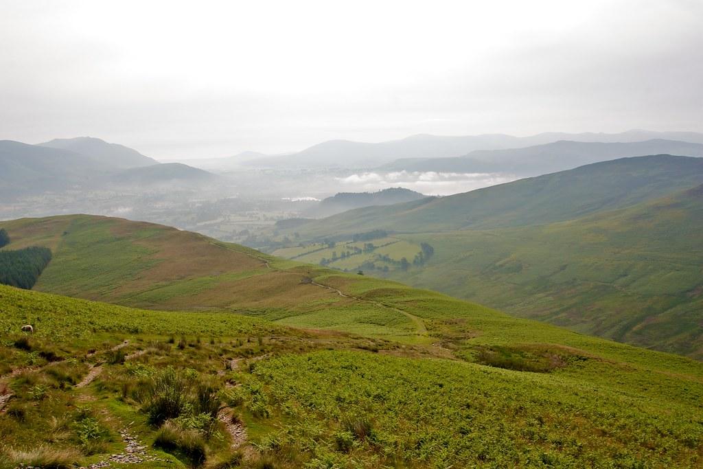 Mist over Keswick