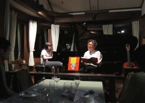大道寺夫人のピアノと大道寺さんの朗読 2013年8月3日 by Poran111