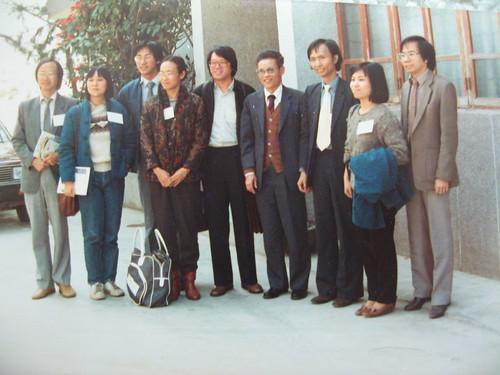 大亞灣核電廠視察1983