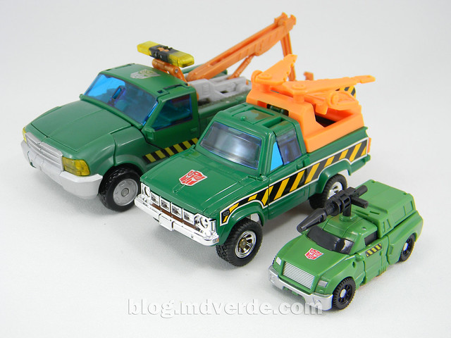 Transformers Hoist Legends - Generations GDO - modo alterno vs G1 vs RotF