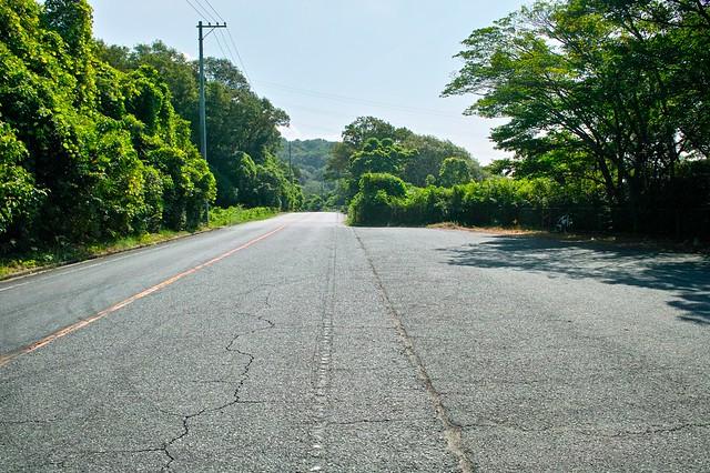 倉敷国際トライアスロンバイクコース折り返し地点