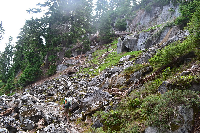 oregon hikers view topic foss lakes to necklace valley
