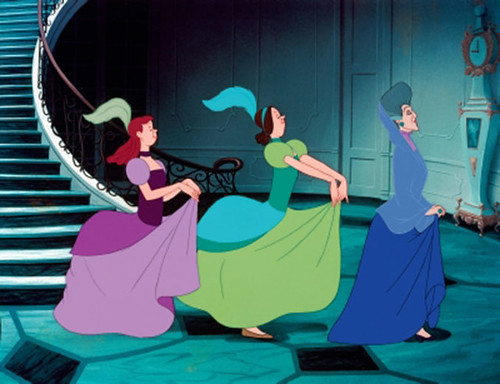 Drizella & Anastasia from Cinderella