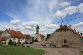 Dorf im Franche-Compté