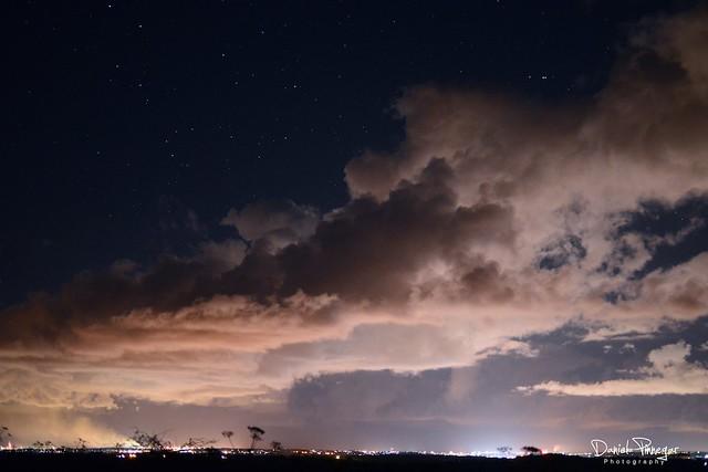 Cloudy Night Sky Stars Cloudy Night Sky   Fli...