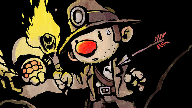 Spelunky on PS3 and PS Vita