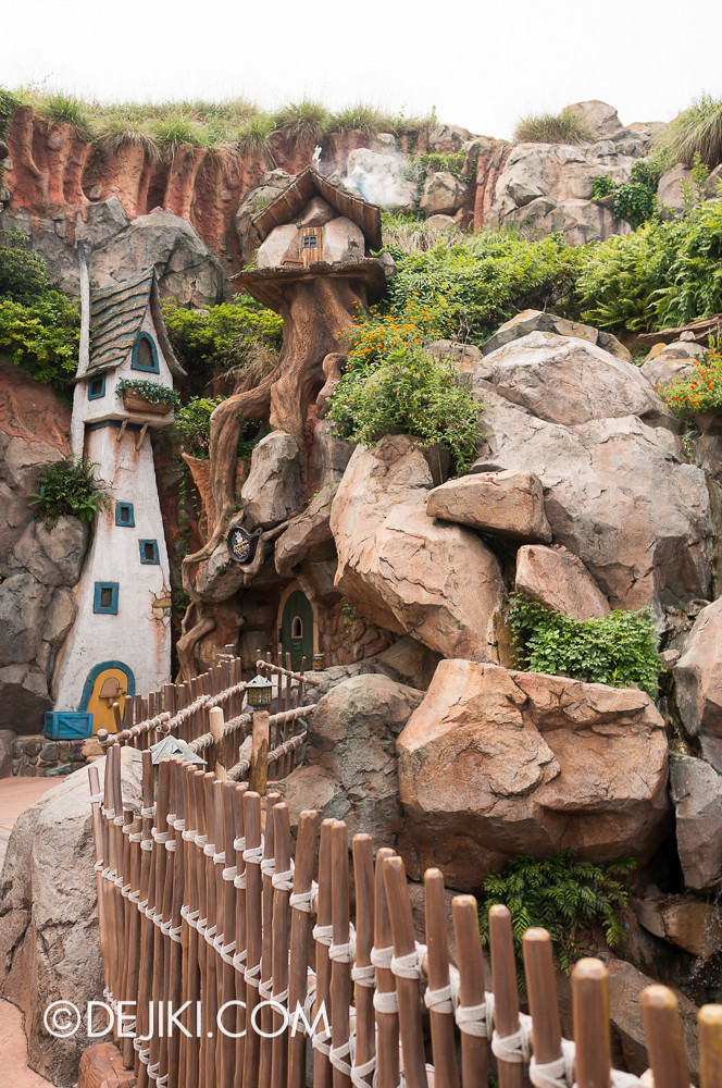 Splash Mountain - Around the drop