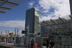 One Churchill Place from Poplar Station