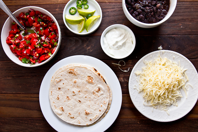 Black (Beans) and White Tacos