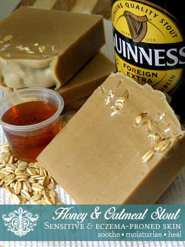 Honey & Oatmeal Stout Soap