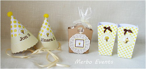 Kit imprimible Abeja Maya Merbo Events