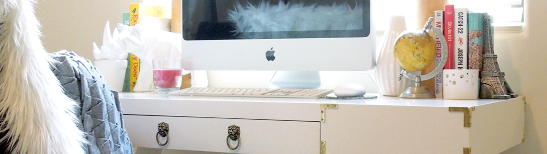 DIY Campaign Style Desk