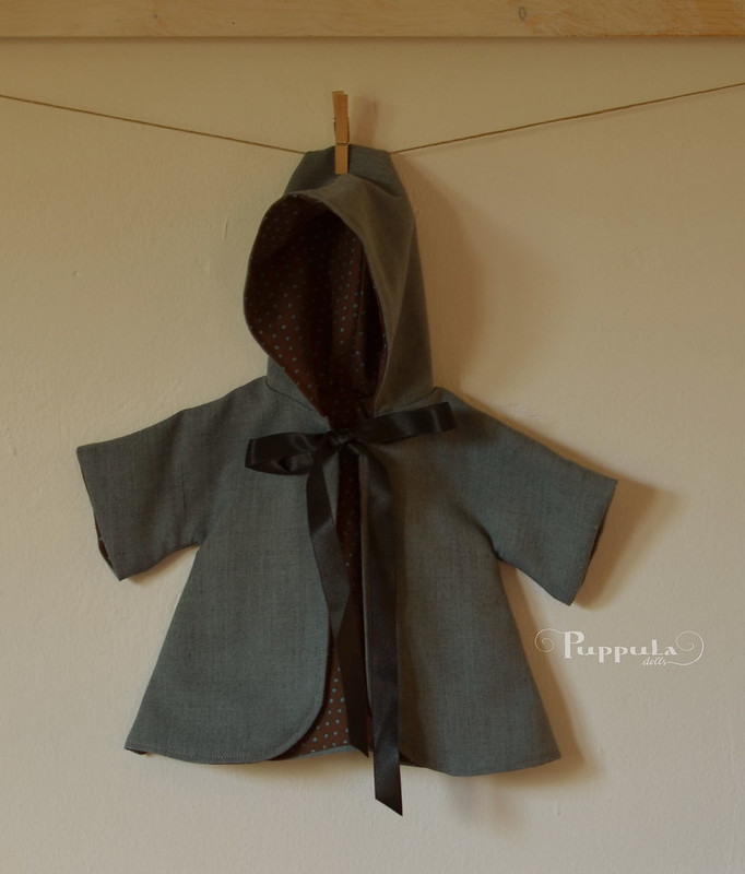 Coat for a 15 inch doll