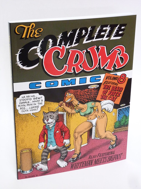 The Complete Crumb Comics Vol. 8 by Robert Crumb cover photo
