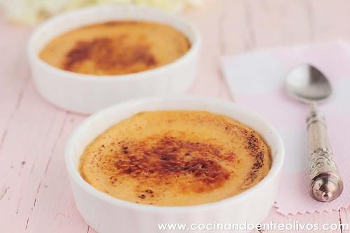 Crema quemada de queso mascarpone y jengibre www.cocinandoentreolivos (18)