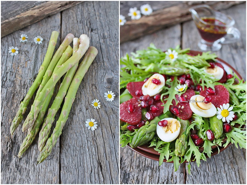...asparagus salate colage
