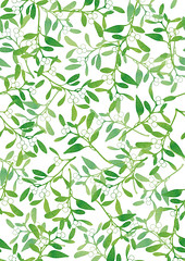 Surface Pattern Mistletoe