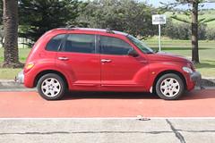 executive car(0.0), minivan(0.0), compact sport utility vehicle(0.0), automobile(1.0), automotive exterior(1.0), sport utility vehicle(1.0), wheel(1.0), vehicle(1.0), chrysler pt cruiser(1.0), rim(1.0), city car(1.0), chrysler(1.0), land vehicle(1.0),