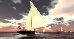 Topless Sailors cruise 110515