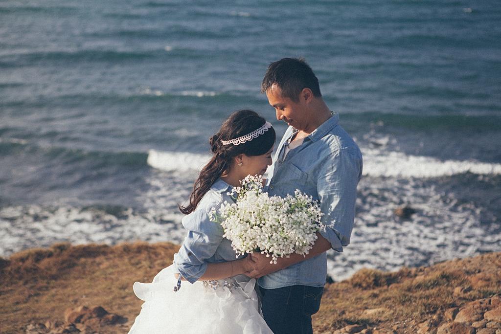 自助婚紗,婚紗攝影,自主婚紗,澎湖,馬公,底片風格,自然