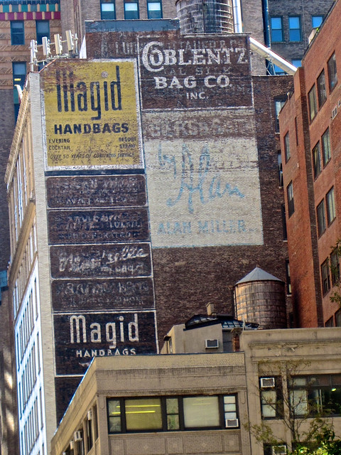 Lots of Ghost Signs, New York, NY