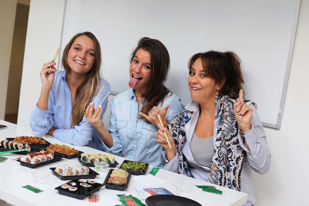 comer sushi en barcelona bueno a casa