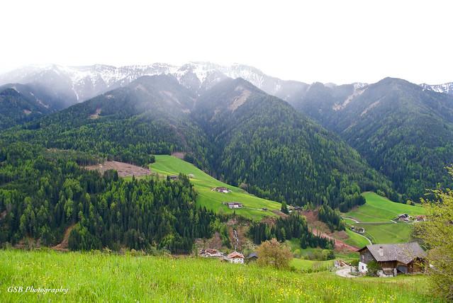 Santa Maddalena Alta, Dolomites, Italy