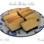 Binka Ubi Asian Cake 3D Model
