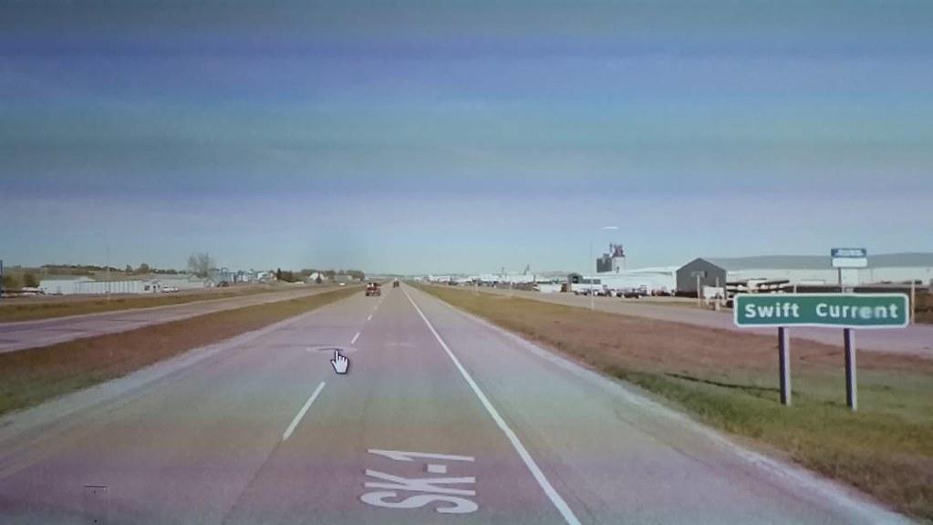 Swift Current, #Saskatchewan #ridingthroughwalls #googlestreetview #xcanadabikeride