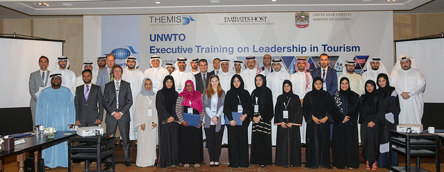 "UNWTO Executive Training Course on ""Leadership in Tourism"" - UAE 2016"