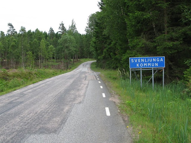 Svenljunga municipality border along, Canon POWERSHOT G9