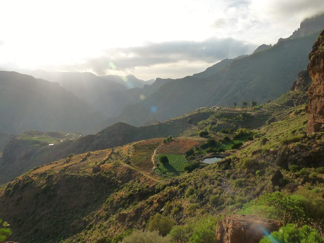 Walk to Acusa Seca Gran Canaria Spain.