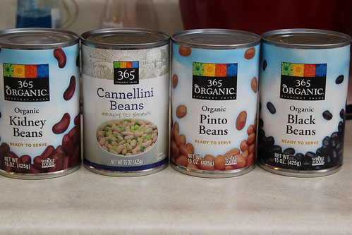 Beans for Four Bean Chili
