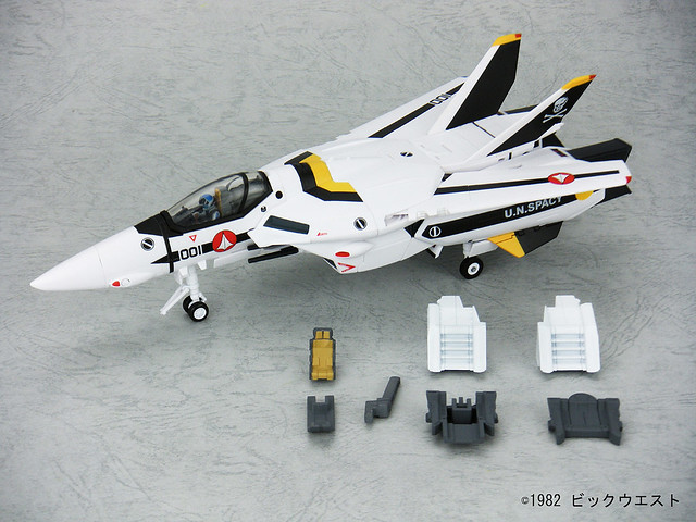 Yamato 1/60 VF-1S TV Ver w/ Optional Parts