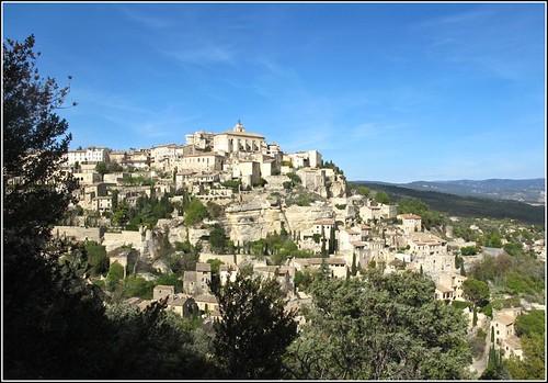 panorama france village lumière provence paysage maison château