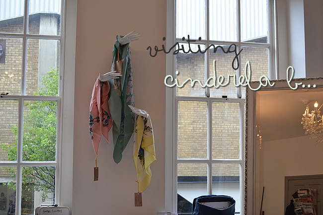 daisybutter - UK Fashion Blog: collection preview, showroom, cinderela b, handmade jewellery, london