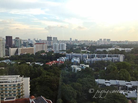 Blu, Shangri-La Hotel Singapore