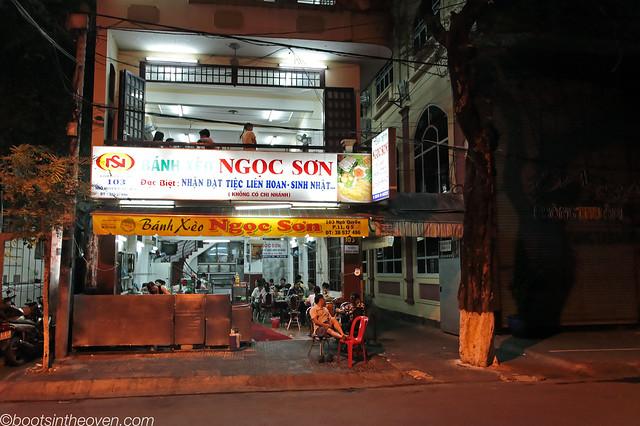 Bánh xèo Ngọc Sơn front