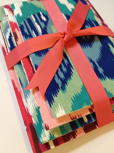 10 - Decorative Wrapping Paper Notebook Tutorial