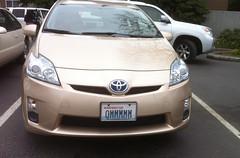 automobile, toyota, vehicle, bumper, toyota prius, land vehicle,