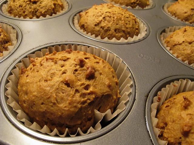 hidden veg muffins.