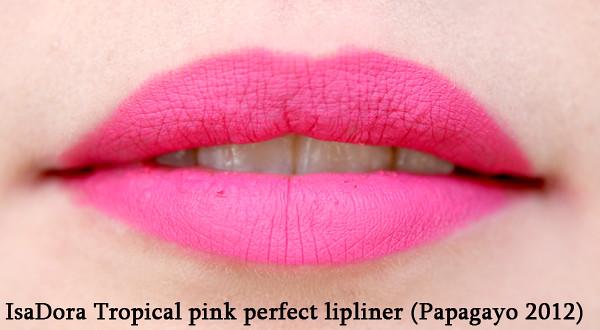 tropical pink lipliner