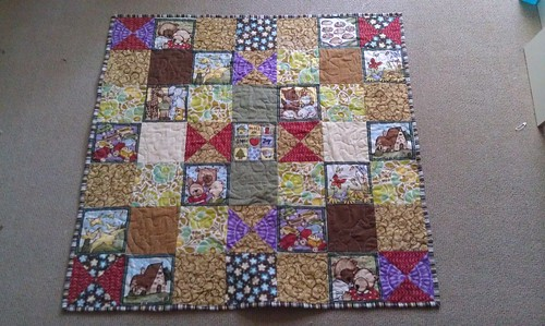 Baby quilts: #2 bound
