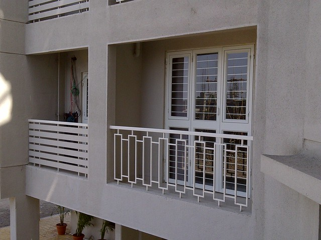 Sit-out & Dry Balcony in Kanchan Vrundavan - Visit Kanchan Vrundavan, 1 BHK & 2 BHK Flats at Koregaon Mul, near Uruli Kanchan Pune 412202